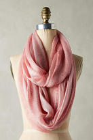 Anthropologie Cameo Pink Knit Infinity Scarf