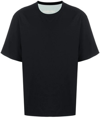 Ambush Black Cotton T-shirt