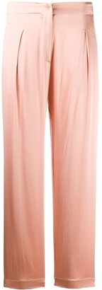Forte Forte High-Waist Pleat Detail Trousers