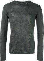 Emporio Armani printed sweatshirt - men - Cotton/Polyester - 50