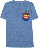 Superman Graphic-Print T-Shirt, Big Boys (8-20)