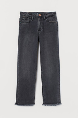 H&M Straight Fit Jeans - Black