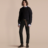 Burberry Multi-knit Cotton Blend Sweater
