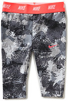 Nike Baby Girls 12-24 Months Patterned Dri-FIT Leggings
