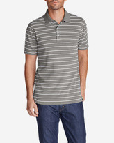 Eddie Bauer Men's Voyager II Performance Short-Sleeve Polo Shirt - Stripe