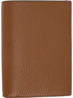 Maison Margiela Tan Leather Bifold Wallet