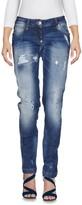 Philipp Plein Denim pants - Item 42595404