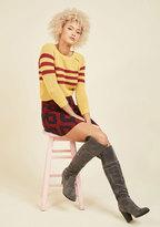 Yoki Fashion International Street Style Sass Block Heel Boot
