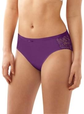 Bali Cotton Desire Lace Hi Cut Brief Underwear DFCD62