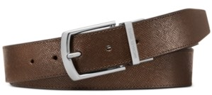 Michael Kors Men's Leather Belt