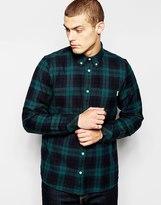 Carhartt Baker Checked Shirt - Green