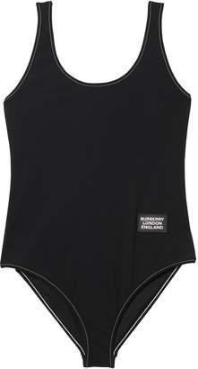 Burberry logo detail swimsuit
