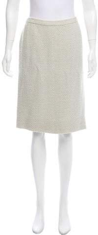 Chanel Couture Tweed Skirt