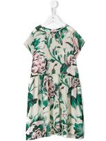 Burberry floral print dress - kids - Silk - 6 yrs