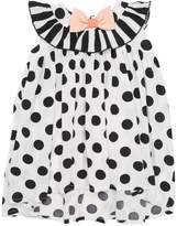 Bangbang Copenhagen Dots Printed Viscose Dress