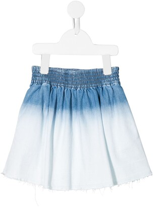 Stella McCartney Bleached Denim Skirt