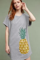 Maeve Pineapple T-Shirt Dress