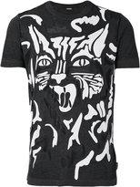 Diesel graphic cat T-shirt