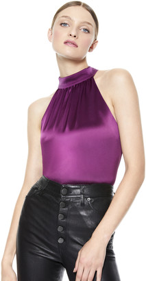 Alice + Olivia Kinsley Halter Top