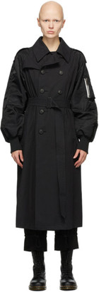Regulation Yohji Yamamoto BlackISO Trench Coat