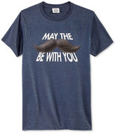 Call Your Mother Men's May the Stache Be With You T-Shirt