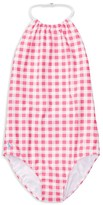 Ralph Lauren Girls' Gingham One Piece Swimsuit - Sizes 7-16