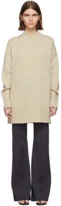 Gauge81 Tan Cashmere Oversized Devon Sweater