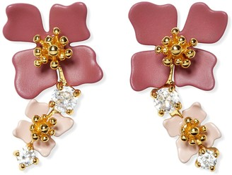 Vince Camuto Tapered Flower Earrings