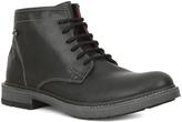 GBX Black Paeton Leather Boot