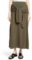 Joseph Women's Tie Detail Knit Maxi Skirt