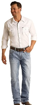 Rock and Roll Cowboy Reflex Double Barrel Relax Fit Straight in Light Wash M0S5801 (Light Wash) Men's Jeans