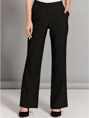 M&Co Petite stretch bootcut trousers