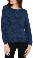 Michael Stars Women's Camo Print Sweatshirt