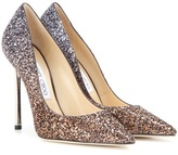 Jimmy Choo Romy 110 Glitter Pumps