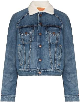 Denimist Exeter shearling-lining denim jacket