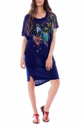 Desigual Women's Dress Butterfly