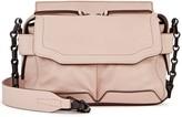 Rag & Bone Pilot Micro Blush Leather Shoulder Bag