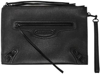 Balenciaga Classic Strap Clutch Bag