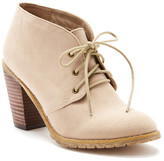 Restricted Penny Lace-Up Bootie
