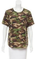 Equipment Camouflage Silk Top