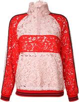 Goen.J - panel jacket - women - Cotton/Nylon - S