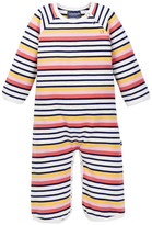 Toobydoo Suunto Striped Jumpsuit (Baby Girls)