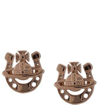 Vivienne Westwood Gonzalo horseshoe stud earrings
