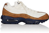 Nike Men's Air Max 95 Premium Sneakers-WHITE, BROWN, PINK