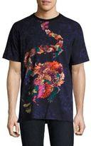 Robert Graham Dragon Floral Printed Regular-Fit Tee