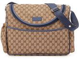 Gucci Travel Guccissima-Print Diaper Bag w/ Changing Pad