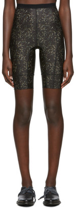Charlotte Knowles SSENSE Exclusive Black Vyper Shorts