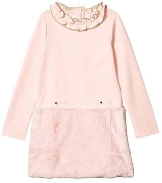Janie and Jack Long Sleeve Ponte Dress (Toddler/Little Kids/Big Kids)