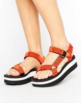 Teva Stripe Flatform Sandal