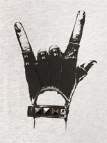 Karl Lagerfeld Hand Printed Cotton T-Shirt